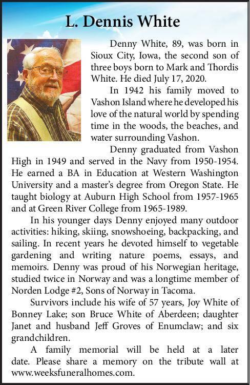 L. Dennis White